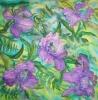 Платок «Орхидея»